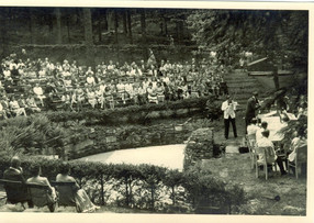 One of the last concerts before the