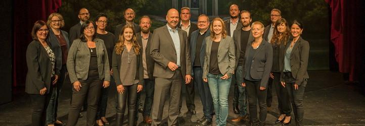 Mitarbeiter*innen Chursächsische Veranstaltungs GmbH